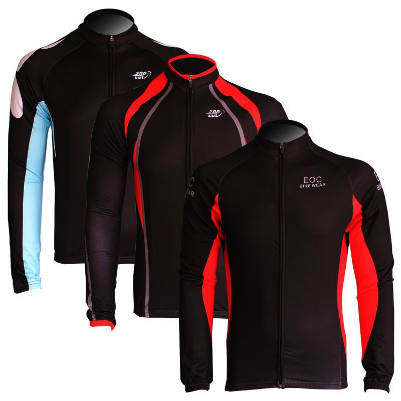 New Fleece Thermal Winter Cycling Long Sleeve Jersey Bike/Bicycle Outdoor Wear 7 Color