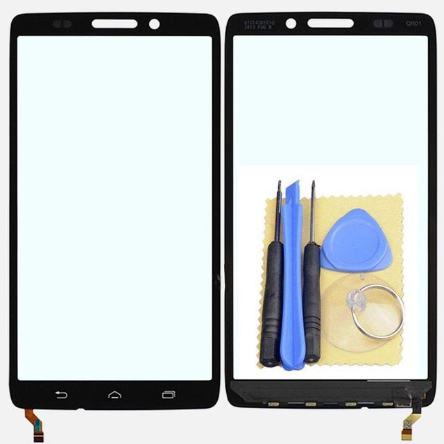 Touch Screen Glass Digitizer for Motorola Droid Ultra XT1080 Maxx XT1080M Black High Quality