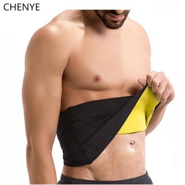 Men's Compression Body Shaper Belt new neoprene waist trainer shapers slim corset slimming fitness control girdle waist cincher