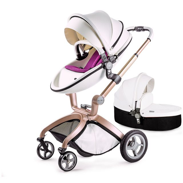 Baby Stroller High Landscape Baby Car Umbrella Light Inflatable Wheel Child Strollers Babybuggy Shock Absorbers Baby Trolley