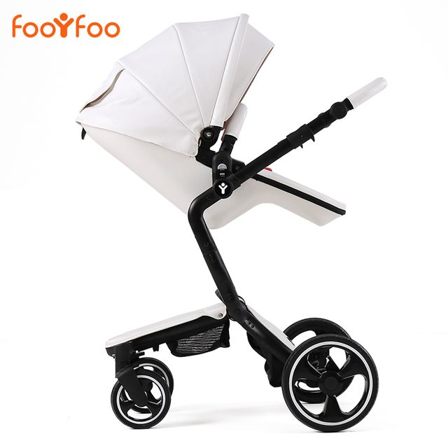 Luxury high landscape shockproof baby stroller can sit and lie baby stroller  summer two-way