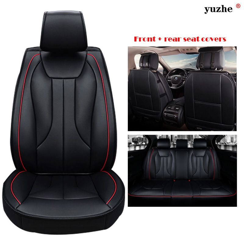 Yuzhe Universal Leather car seat cover For Chevrolet CRUZE SAIL AVEO EPICA CAPTIVA Cobalt Malibu lacetti accessories styling
