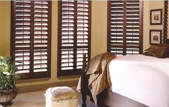 FREE SHIPPING TOP QUALITY MADE TO MEASURE REAL WOODEN HINGE PLANTATION SHUTTERS