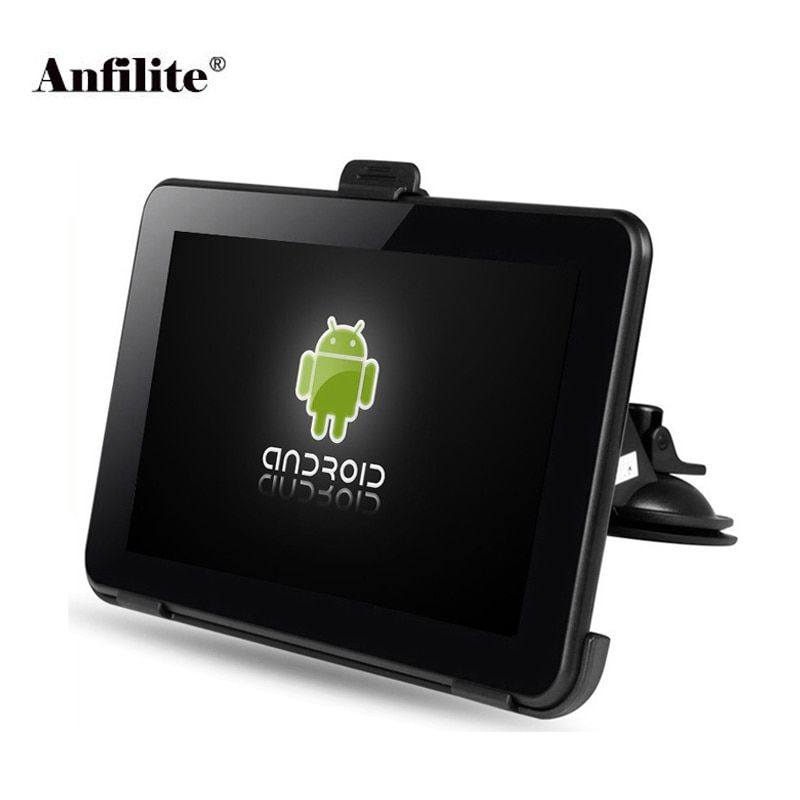 7 inch Capacitive Car truck GPS Navigation Android 4.4.2 WIFI 16GB DDR3 512M Vehicle gps navigator Navitel Europe global map