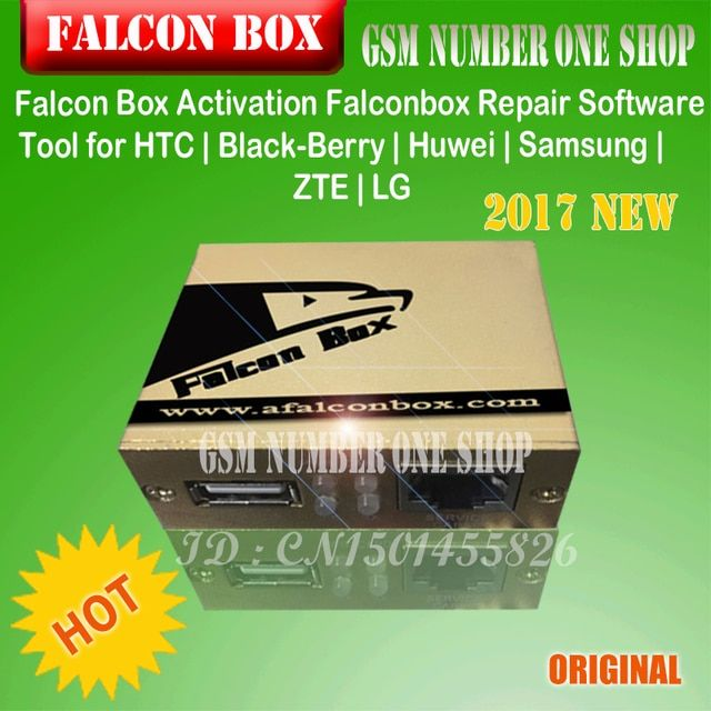 Falcon Box Activation Falconbox Repair Software Tool for HTC | Black-Berry | Huwei | Samsung | ZTE | LG