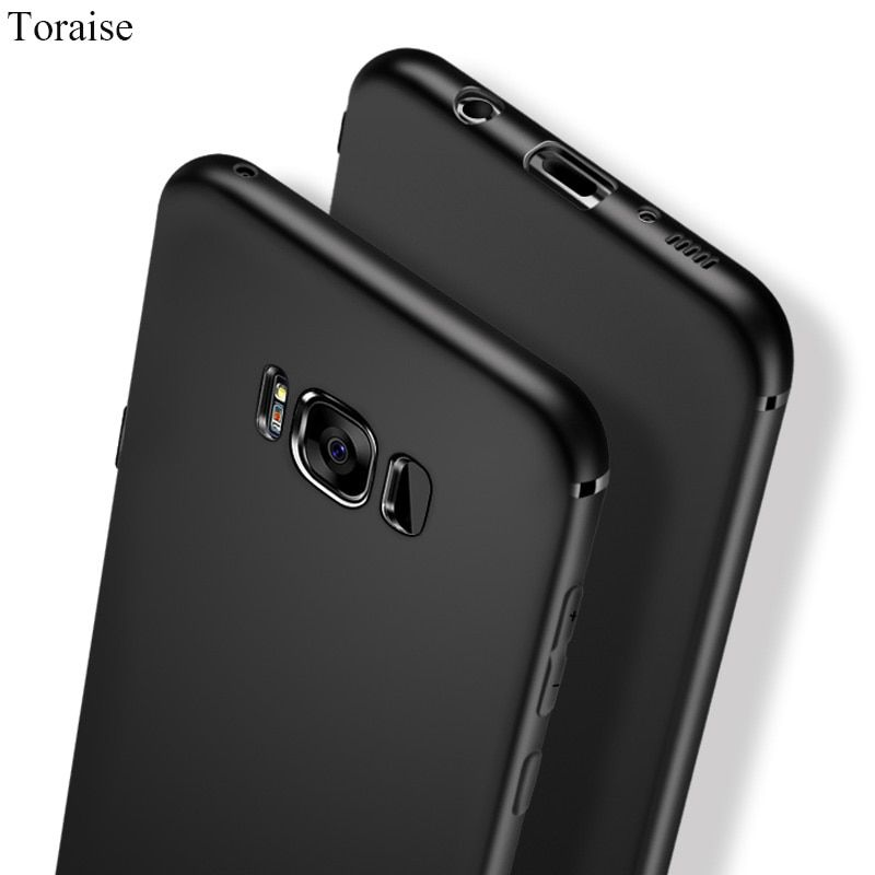Toraise Thin Case For Samsung S8 Galaxy S8 Plus Slim Frosted Soft Silicone Tpu Case for Samsung S9 S7 S7 edge S6 edge Note 8 5