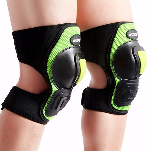 Motorbike Motocross Motorcycle Racing Knee Pads Mountain Bike Bicycle Cycling Skating Skiing Knee Guards MTB Downhill Equipment