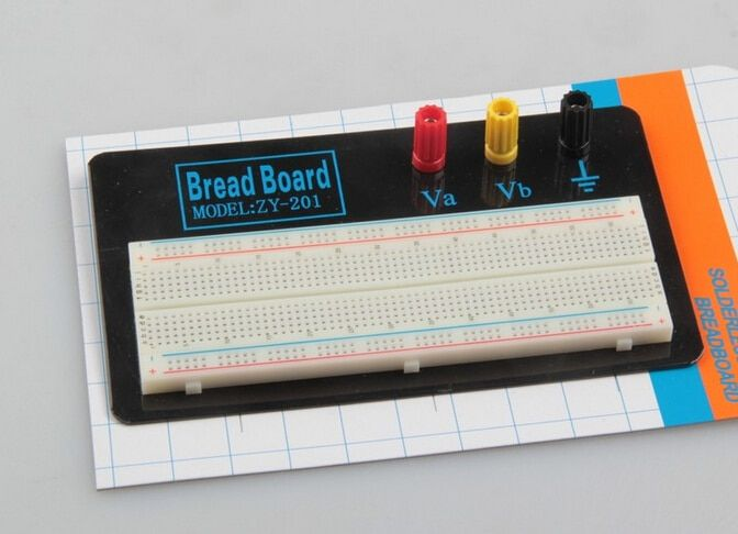 Free Shipping Solderless breadboard solderless test board, bench ZY-201 factory outlets
