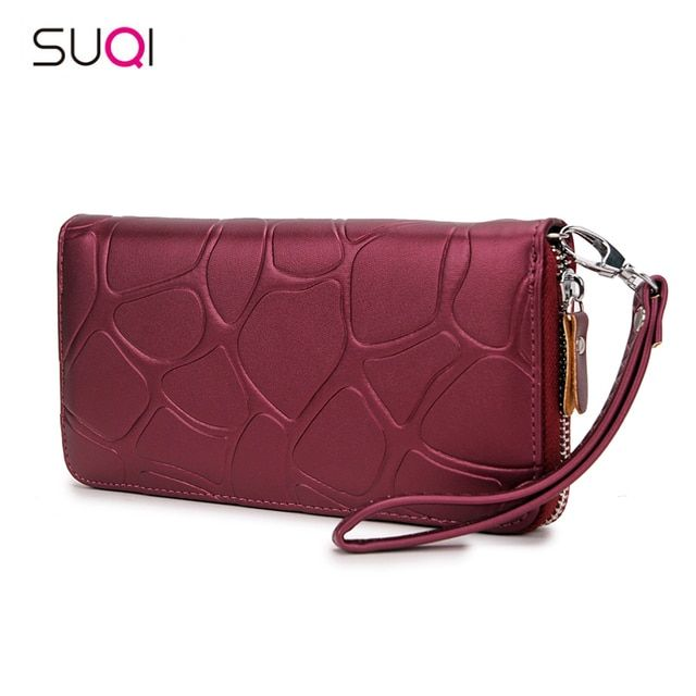 2018 Pu Leather Women Wallet Female Purse Large Capacity Wallets Female Purse Lady Purses Phone Pocket Card Holder Carteras