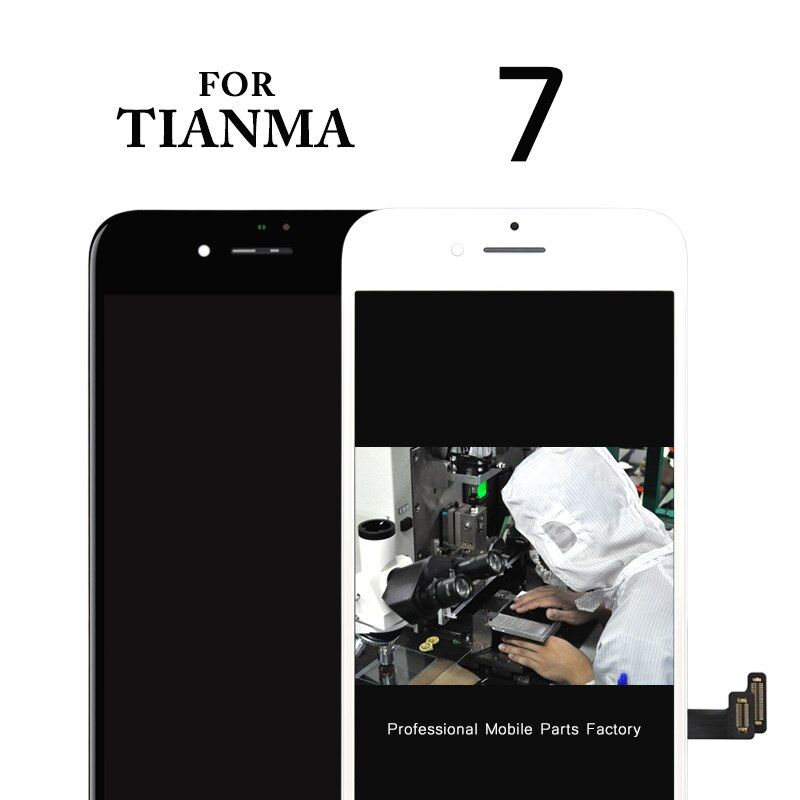 100% Good Work 5 PCS  for TianmaTOP Quality For iPhone 7 LCD Screen With Touch Digitizer Display Assembly Replacement