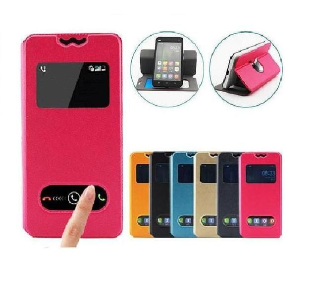 Fly IQ451 Case, Flip PU Leather Phone Case for Fly IQ 451 Vista Free Shipping