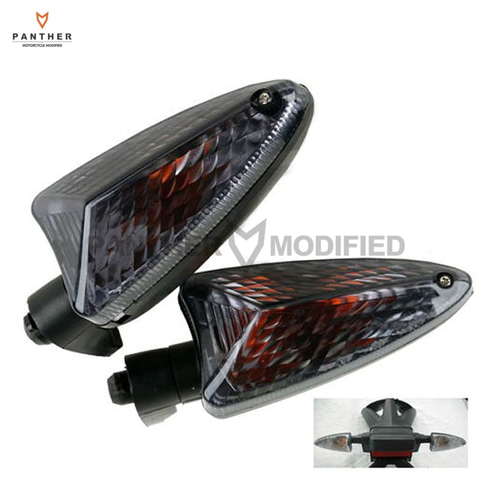 Smoke Motorcycle Turn Signal Light case for BMW F800ST F800S F800R F800GS 2007-2008 K1200R