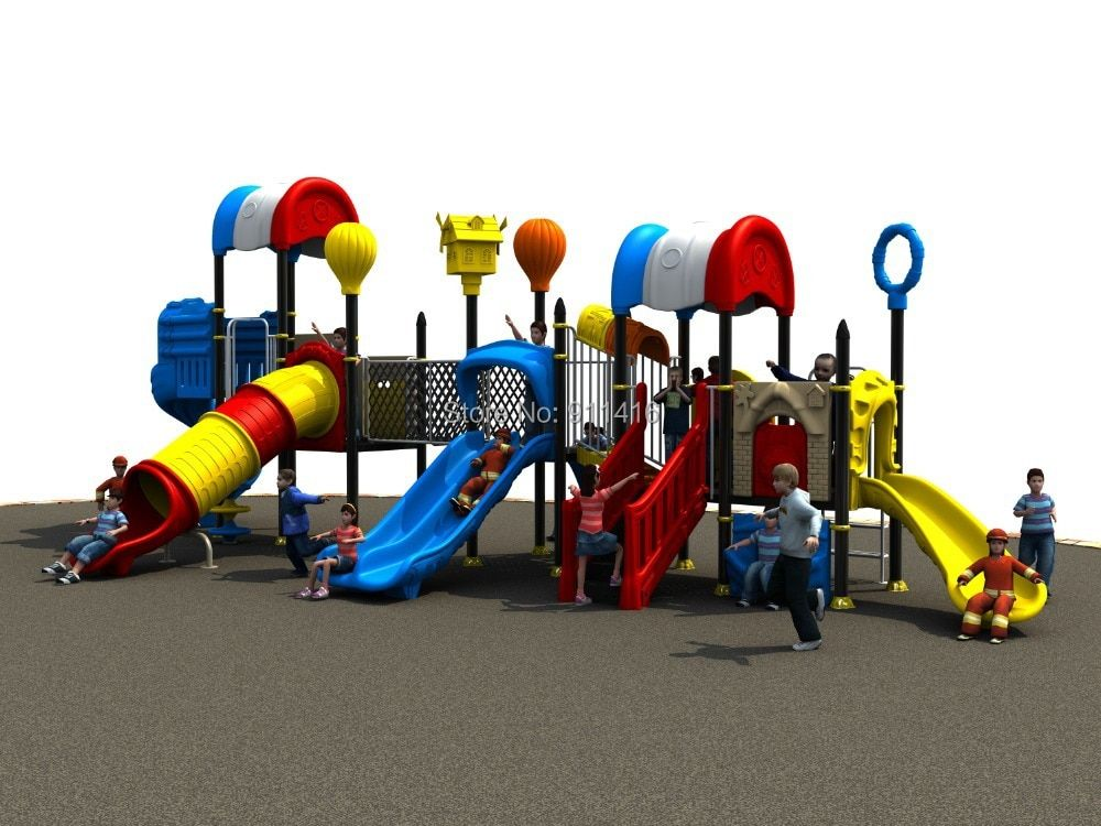 Pepsi house series children outdoor play structure CIT-14036A