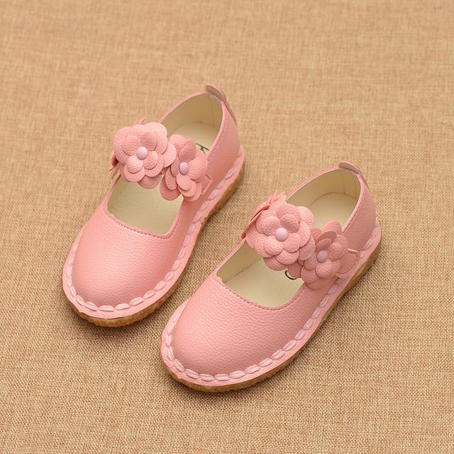 2016 spring and autumn single shoes child baby casual shoes female child small leather princess shoes children shoes