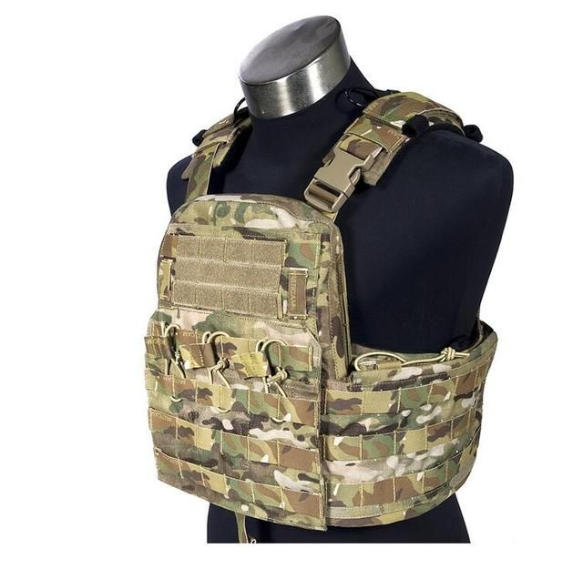 FLYYE  MOLLE Field Compact Plate Carrier  Military Tactical Vest VT-M031
