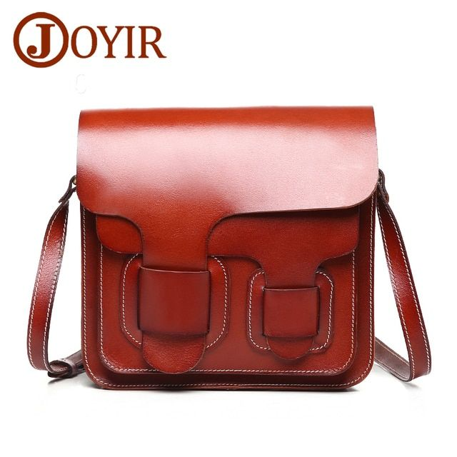 JOYIR Women Genuine Leather Shoulder Bag Luxury Brand Bags  Women Messenger Crossbody Bags for Women Ladies Bolsas Feminina 8603