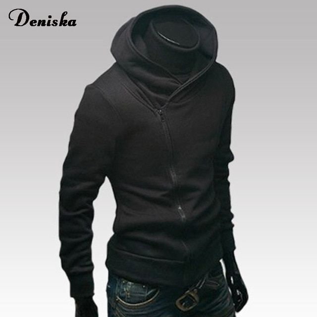 2016 new men's swreatwear hooded assassin creed casual cotton hooded zipper jackets hip-hop clothing sweatshirts