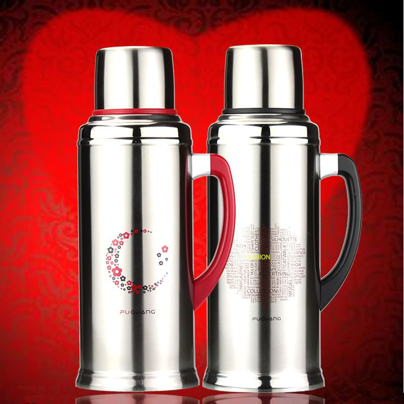 Fuguang  FGL-3383 Double Layer Stainless Steel Keep Warm ,Cool Vacuum insulate Thermos water bottle elegant house office wedding