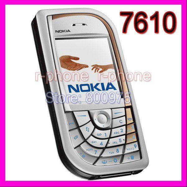 Refurbished Original Unlocked Nokia 7610 Mobile Cell Phone & Promotional Item !!! Lowest price !!! 7610
