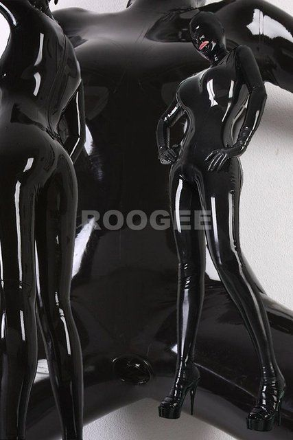 Latex Catsuit Full Cover