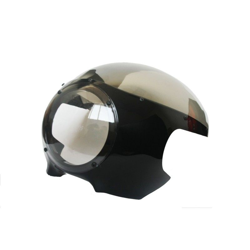 "Motorcycle Headlight Fairing 5 3/4"" Front Windshield For Retro Cafe Racer Style Drag Racing"