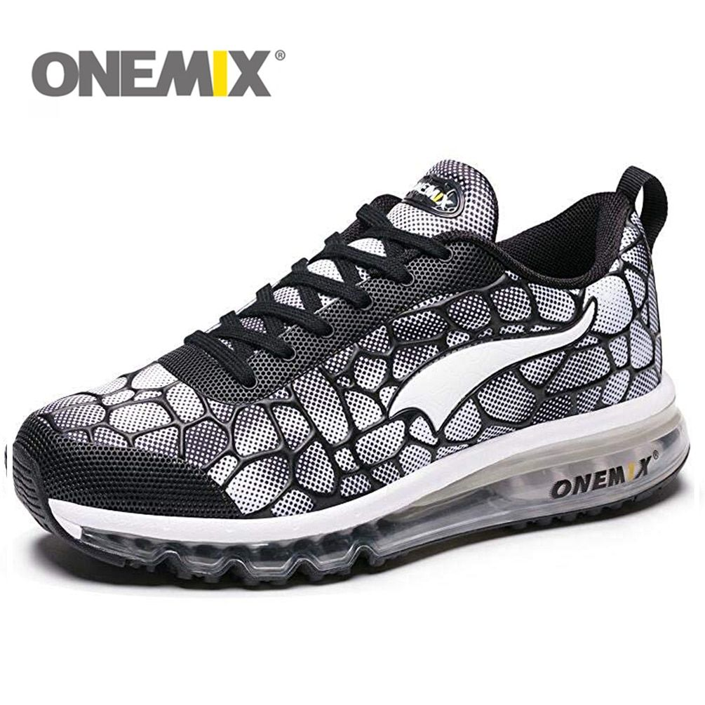 ONEMIX Air Cushion Mens Running Shoes for Women New Female Walking Sneakers Jogging Sports Men Trainers Max 47