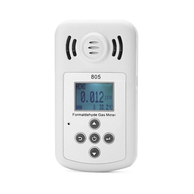 Profession Gas Formaldehyde Detector PM2.5 Indoor Air Quality Monitor Tester Dust Haze Temperature Humidity Moisture Meter
