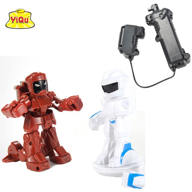 New arrival wholesale Remote Radio Control Battle Robot Arbitrary manipulation rc robot battle fighting robot