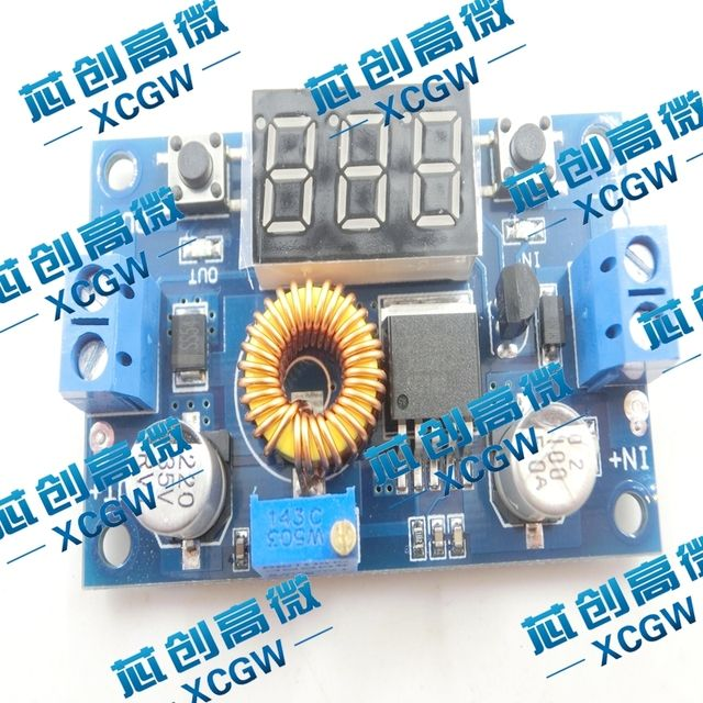 YS-05 5A high power 75W DC-DC adjustable buck modul  with voltage meter display