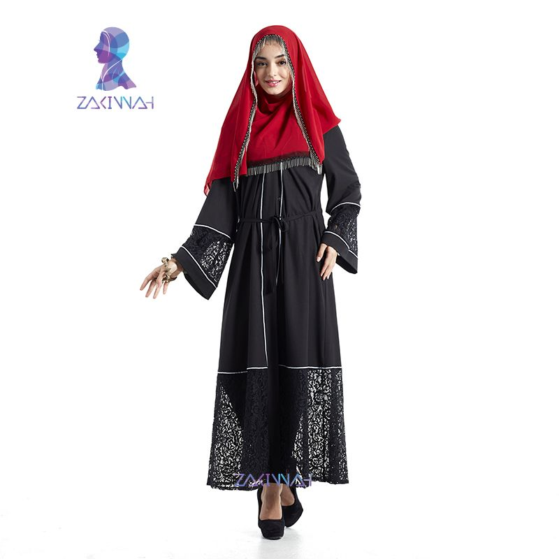 Hot abaya in dubai kaftan muslim dress maxi dress islamic abaya women casual party turkish robe high quality maxi dress