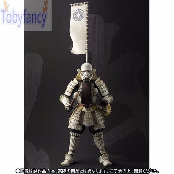 17CM Star Wars Actions Figure Sic Samurai Taisho Imperial Stormtrooper Taikoyaku PVC Realization Anime Figure Toys For Kid