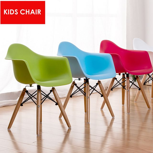 modern design kids chair Children wooden base baby arm wood leg chair fashion Kids play toy dining Armchair dining chair-2 PCS