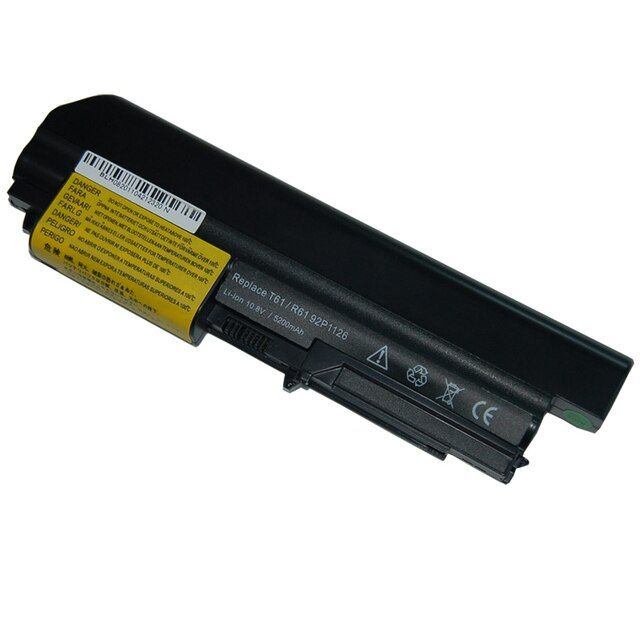 JIGU For IBM Lenovo T61 T61p R61 ThinkPad R61i T61u New Laptop Battery R400 T400 6 Cells