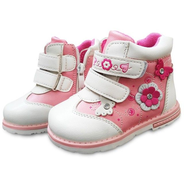 Super quality NEW 1pair Brand PU Leather Children Boots,Ankle sport Children Sneakers, Autumn Kids Baby Sneakers