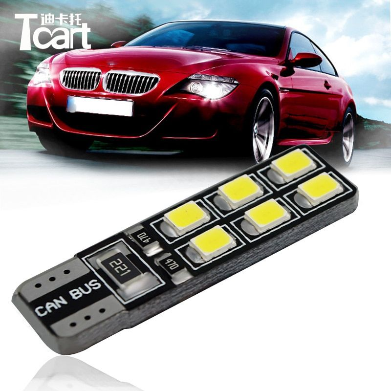 Tcart 4x LED CANBUS  2835 Chip Clearance Lights For Ford Focus 2 3 4 1 Fiesta Fusion mondeo mk3 mk4 kuga mustang ka accessories