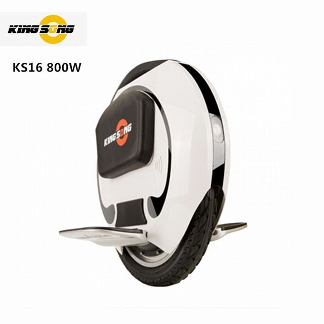 Original Kingsong KS 16 inch electric single one wheel self balance scooter hoverboard skateboard super unicycle build-in handle