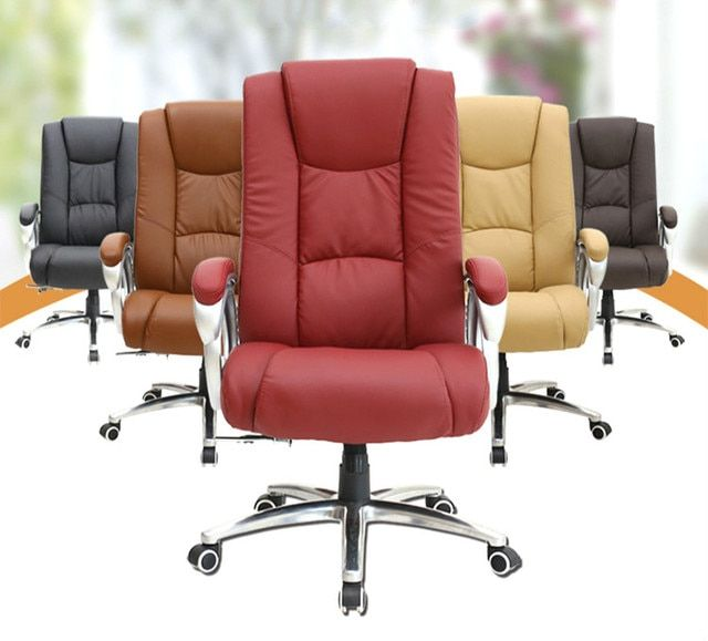High Quality SmartElectric Massage Chair Leather Office Executive Chair Lifting Adjustable Computer Chair Rotatable Swivel Chair