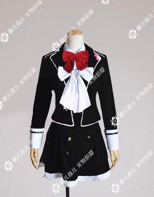 2016 Custom Made Diabolik Lovers Komori Yui Uniform Anime Cosplay Costume