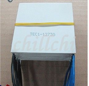 Refrigeration piece 12V30A 62*62 267W TEC1-12730 high power big temperature difference super refrigeration semiconductor