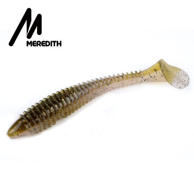 MEREDITH Fishing Lures  Swing Impact FAT Swimbait 6.8''  180mm/33.6g 1pcs Craws Soft Lures Fishing Soft Bait Bass Bait