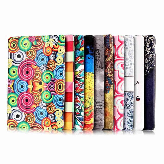 3 in 1 Colorful PU Leather Case Flip Cover Case For Lenovo Tab 2 Tab2 A10-70F A10-30 x30 x30F A10-70c tablet Protective+Film+Pen