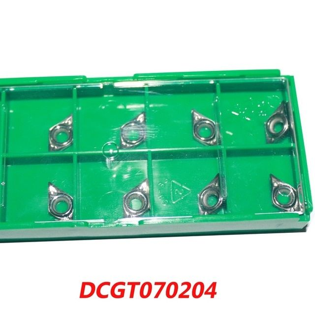 Free Shipping DCGT070204 No Coating Aluminum Inserts Cutter Carbide Alloy for Lathe Holder SDJC/SDNCN/SDQC
