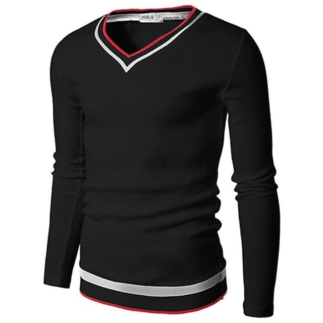 2016 High Quality Casual Sweater Men Pullovers Brand winter Knitting long sleeve V-Neck slim Knitwear  Sweaters size M-XXL PS016