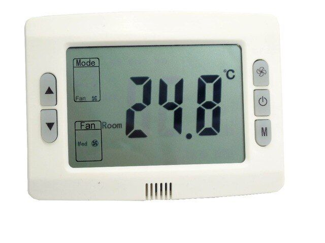 Central air conditioner digital Room thermostat, Temperature Controller Fan and valve control