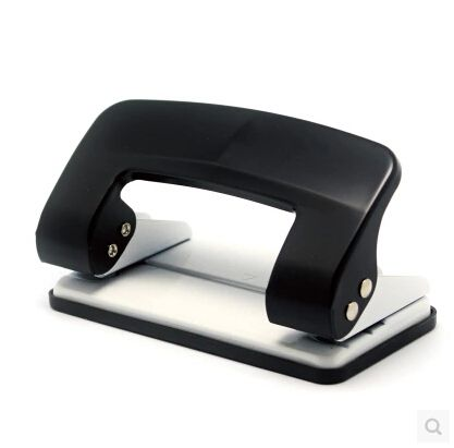 brand new premium 2 hole punch high quality hole punch could pierce paper leather pvc card hot sale KW-TRIO 9208