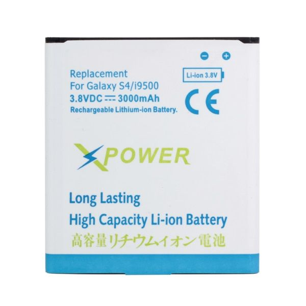 For Galaxy S4 i9500 Free Shipping 3000mAh 3.8V Replacement Battery For Samsung S4 I9500 I9505 I9508 I9502 Low Pricie