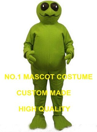 New Halloween Green Alien Mascot Costume Adult extraterrestrial intelligent beings Theme Mascotte Fancy Dress Anime Cosply