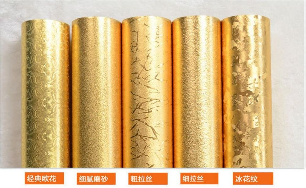 Europe style Matte reflective foil wallpaper flash wallpaper suspended ceiling roll wallpapers