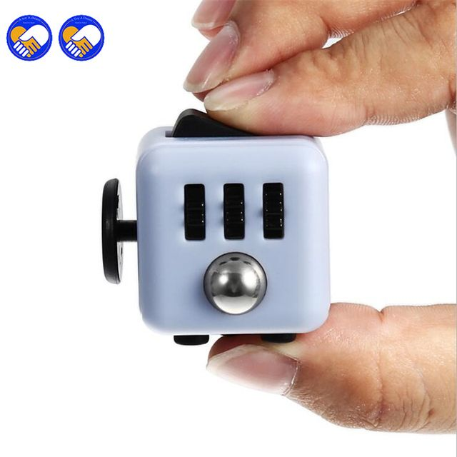 A toy A dream New Novelty Desk Toy Fidget Cube Relieves Anxiety and Stress Juguete For Adults Squeeze Fun Fidget Cube Desk Toys