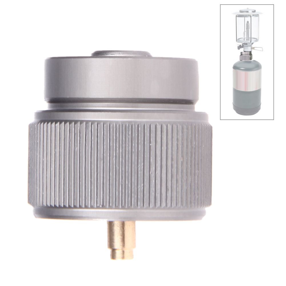 Camping Stove Gas Refill Adapter Cylinder Gas Tank Inflator Butane Canister Gas Furnace Connector Cartridge Tank Adapter